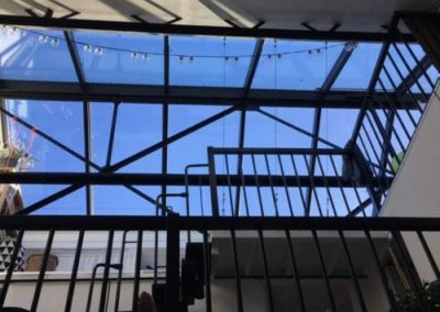Verrière de toit Pantin