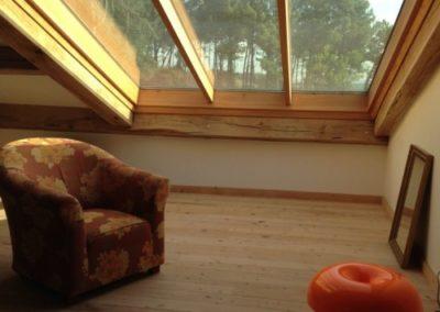 Verrière de toit fixe maison contemporaine
