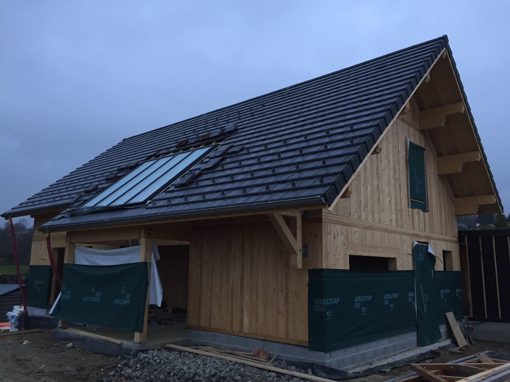 nos r alisations verri re de toit pente verri re de toit. Black Bedroom Furniture Sets. Home Design Ideas