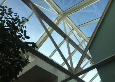 Projet d'une verrière de toit incliné - Pantin - Angle de vue 1
