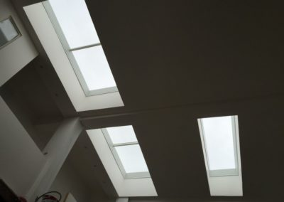 Verrière de toit plat fixe