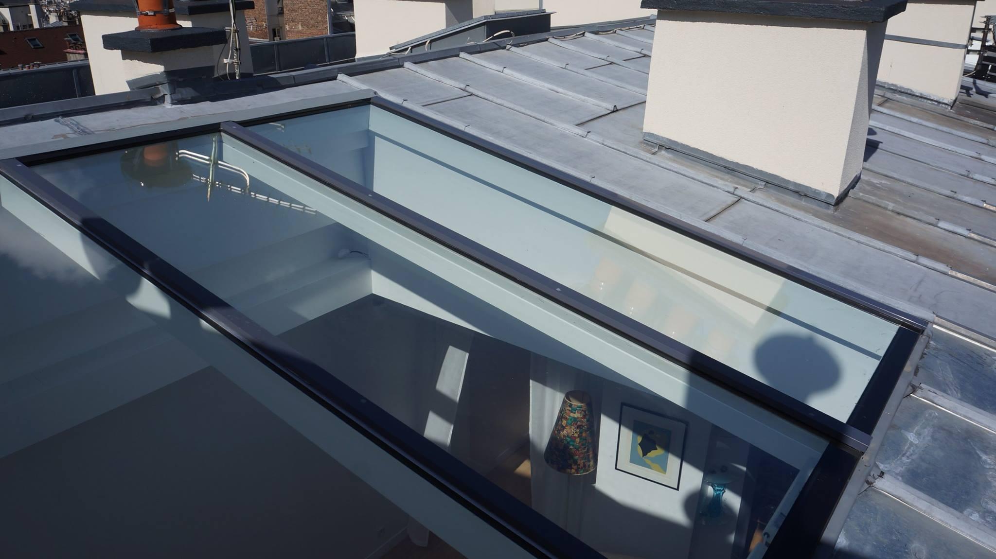 Nos réalisations verrière de toit pente   Verrière de toit