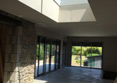 Verrière de toit terrasse en Mayenne