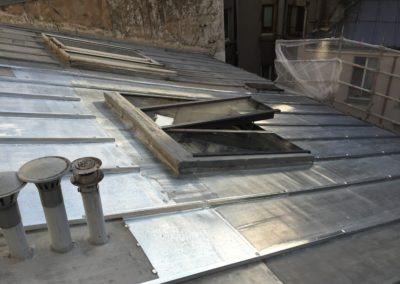 Verrière de toit sur toit incliné - Vue extérieure