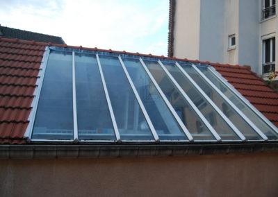 Verrière de toit d'origine