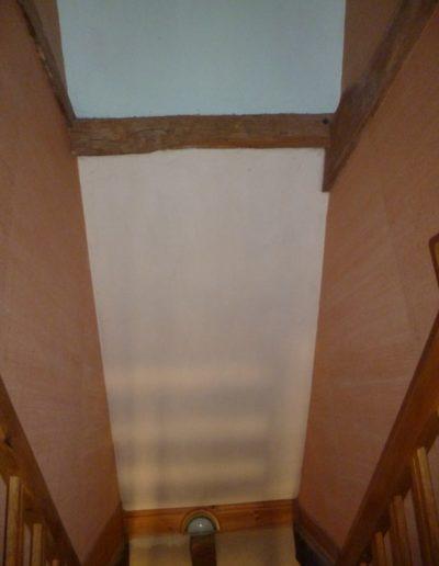 Intérieur avant installation de la verrière